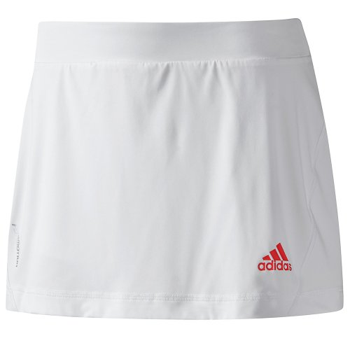 Adidas Womens adiPower Barricade Tennis Skort - White
