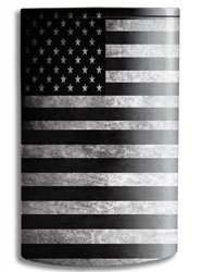 JWraps U.S.A. Flag in Black & White (S728) Custom E-Cigarette (E-Cig) Protective Vinyl Vape Skin Wrap for Eleaf iPower 80W Vaporizer (E Cigarette Custom compare prices)