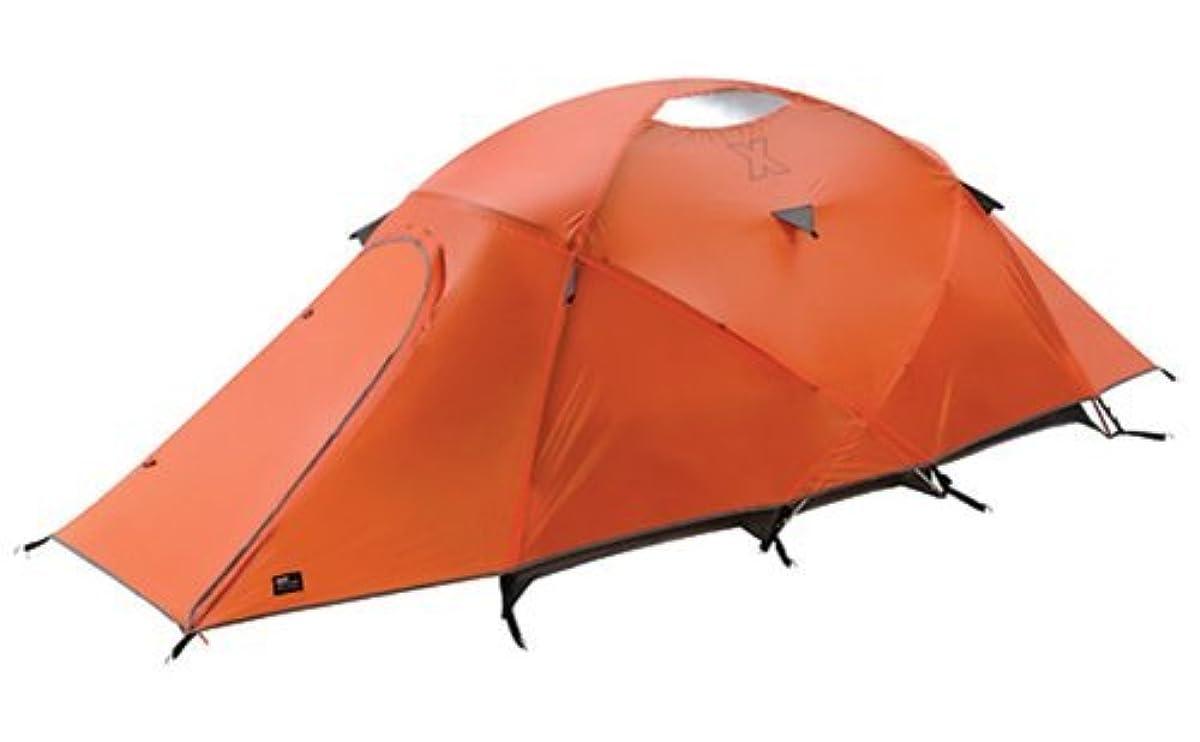 [해외] 【병행수입품】 COLEMAN(콜맨)EXPONENT HELIOS X2 2명 용등산용 텐트 오렌지+COLEMAN (콜맨) 25CM 스틸 펙(peg)(말뚝)/stakes부(4개)-