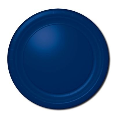 "Plt 7"" Hi Ct Bright Royal Blue 20ct"