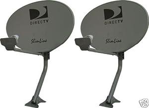 Kaku Slim Line Satellite Dish 99 101 103 Hdtv 3 LNB