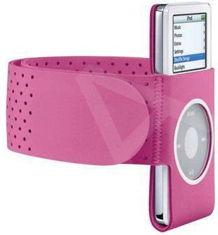 U-Bop SportsGRIP Armband Holder for Apple iPod Nano 1st & 2nd Generation , Pink