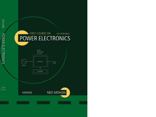 Ned mohan power electronics free ebook