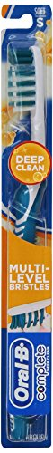 Oral-B Complete Deep Clean Soft Bristles Toothbrush, Assorted Colors, 6 Count