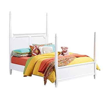 Standard Furniture Watercolor Kids' Poster Bed In White - Twin