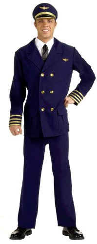 Adult Airline Pilot Costumes - Adult Std.