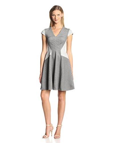 Rebecca Taylor Women's Short Sleeve Ottoman Ponte Dress