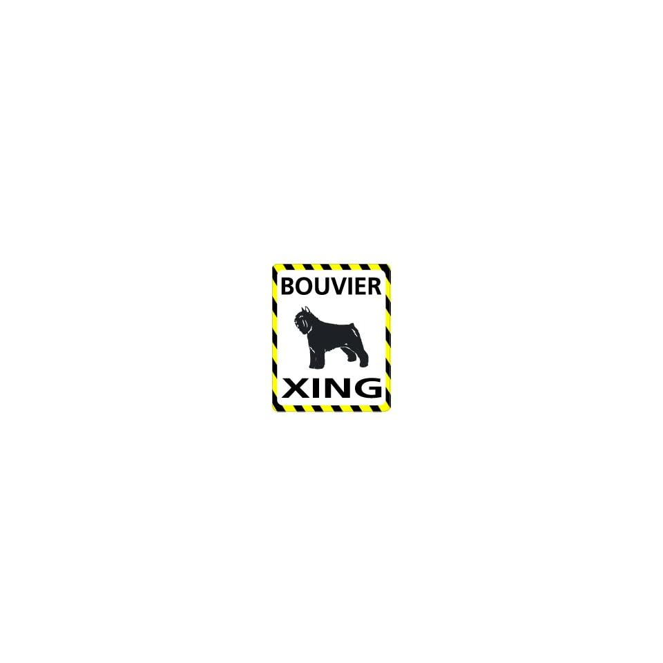 BOUVIER Crossing   Window Bumper Laptop Sticker