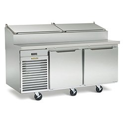 Traulsen Ts066Ht Front Breathing Pizza Prep Table, 15.7 Cu. Ft.