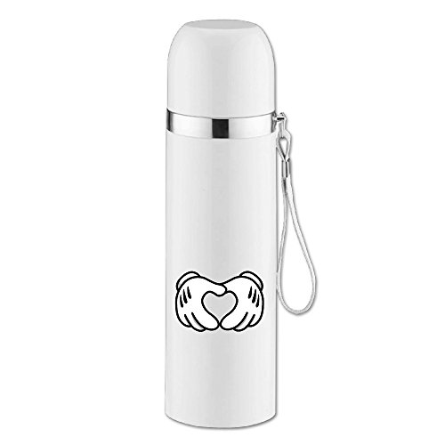 MEGGE CARTOON HANDS MICKEY HEART Gorgeous Bullet Vacuum Thermal Insulation Cup
