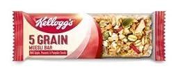 Kellogg\'s 5 Grain Muesli Bar (30gx6)