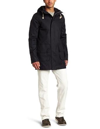 Jack Spade Men's Mantooth Parka Jacket, Dark Navy, large