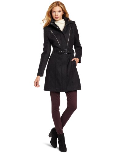 Miss Sixty Women's Brooke Jacket, Charcoal, Small
