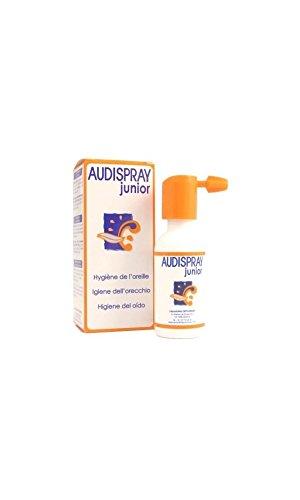 Spray Auricolare Per L'Igiene E La Pulizia Dell Orecchio Dei Bambini Soluzione Salina Ipertonica Di Acqua Di Mare Audispray Junior No Gas 25 Ml