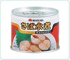 マルハ さば水煮 6号缶EO缶 総量190g
