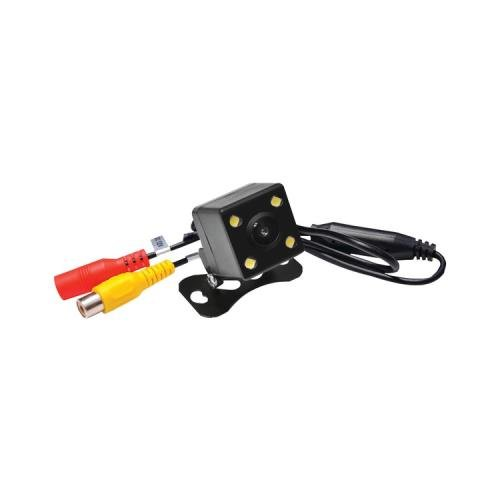 Pyle Plcm4Led Rearview Camera With 0 Lux Night Vision & Led Lights With Distance Scale Line (Pyle Plcm4Led)