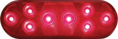 Peterson Manufacturing 420R-5P Oval Led Tail Light
