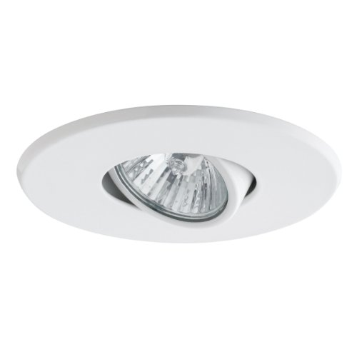 globe electric 90540 4 inch recessed lighting kit swivel white
