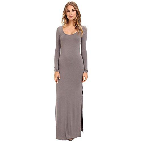 (オルタナティヴ) Alternative レディース ドレス パーティドレス Viscose L/S Maxi Dress 並行輸入品