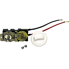 Cadet CTT2W Double Pole Mounted Thermostat Kit