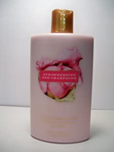 Victoria's Secret Garden Strawberries and Champagne Hydrating Body Lotion 8.4 fl oz (250 ml)
