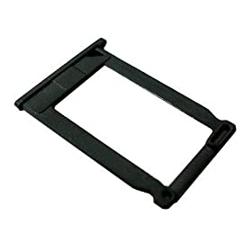 Apple Iphone 3G Compatible Black Sim Card Tray Holder