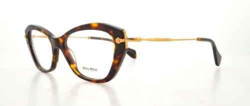 Miu MiuMiu Miu Glasses Tortoise 04LV Cats Eyes Sunglasses