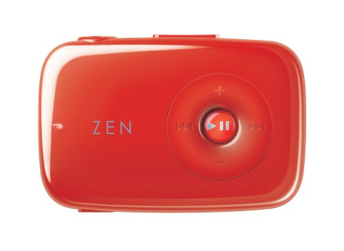 Creative Zen Stone 1 GB MP3 Player (Red)