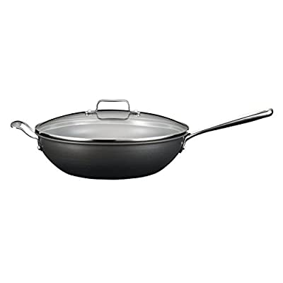 Emeril for All-Clad 5 Quart Hard Anodized Covered Chef's Pan