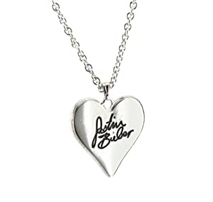 justin bieber signature necklace w gift