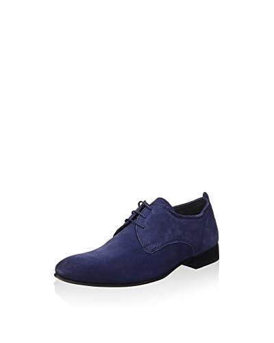 Base London Zapatos derby Azul Oscuro