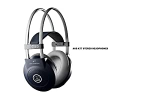 PACKAGE - AKG K77 Headphones + EMB DJC6U Professional Controller DJ MIXER 2 Jog Wheels Scratching + Controlling With TFT Display - Virtual DJ Compatible / Virtual DJ Disk included - For Home Entertainment | DJ Performance | Club | Bar | Pub | Studio Recor