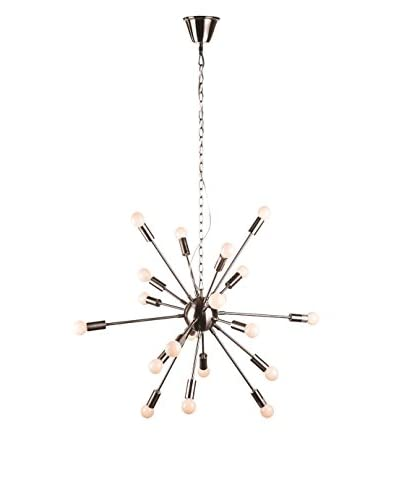 Control Brand The Orgasma 18-Light Chandelier, Nickel