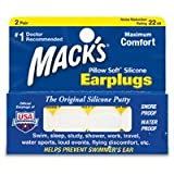 Mack's Ear Plugs 5EP Pillow Soft Silicone 2SET