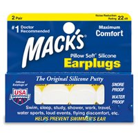 Mack's Ear Plugs 5EP Pillow Soft Silicone 2SET マックス イヤープラグ