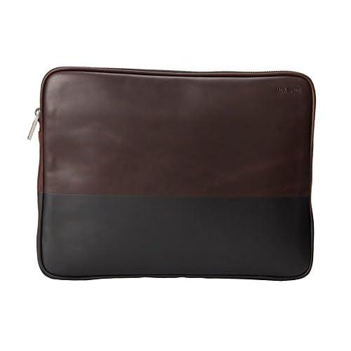 (ジャック・スペード) Jack Spade 旅行バッグ、ポーチ メンズ Jack Spade Dipped Leather Portfolio Chocolate/Black