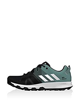 adidas Zapatillas Kanadia 8 Trail (Negro / Gris)