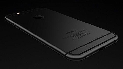 TARKAN Black Plated Matte Finish FRONT + BACK Premium 9H Shatterproof Tempered Glass Screen Protector with Dry,Wet Wipe For Apple iPhone 6 Plus / 6S Plus 5.5 inch