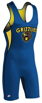 Brute 0123208 Men's Rogue AVT 2 Custom Sewn Wrestling Singlet (Call 1-800-234-2775 to order)