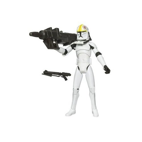 Star Wars Clone Wars Animated Action Figure No. 11 Clone Pilot ODD BALL