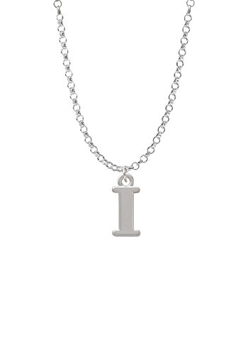 Large Initial - I - Necklace