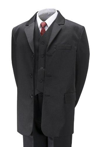 Boys Black Suit (5 piece) 8 year
