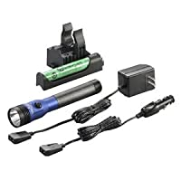 Streamlight 75476 Blue Stinger Led Hl Ac/Dc With Piggyback Charger 640 Lumens