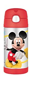 Thermos FUNtainer Bottle, Mickey Mouse Clubhouse, 12 Ounce