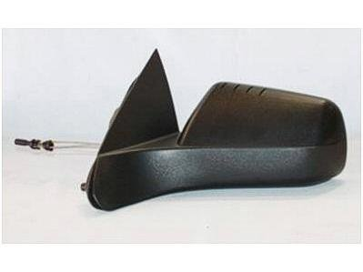 DRIVER SIDE DOOR MIRROR Ford Focus MANUAL WITH TEXTURED BLACK COVER WITH 4 RIDGE PATTERN ON TOP OF THE COVER; USA BUILT; (09 Ford Focus Driver Side Mirror compare prices)