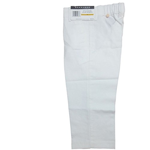 sean-john-tuta-ragazzo-bambini-lino-pantaloni-bianco-98