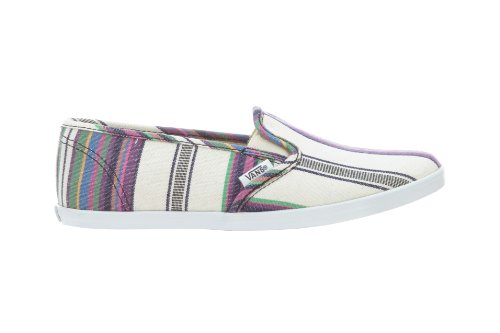 Vans Slip-On Lo Pro Multi Stripe Unisex Slip On Shoes, Size M6.5 / W8