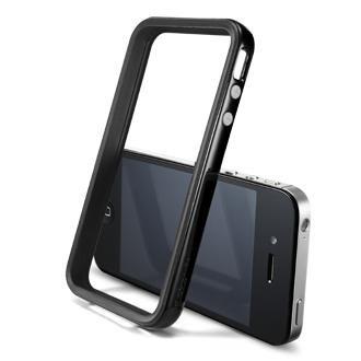 SPIGEN SGP iPhone4/4Sケース ネオ・ハイブリッド2S ビビッドシリーズ [ソウルブラック] 【SGP08359】