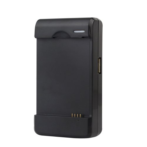 Ezopower Black Usb Wall Travel External Battery Dock Charger With Led Light For Samsung Galaxy S3 S Iii (At&T I747, T-Mobile T999, Sprint L710, Verizon I535)