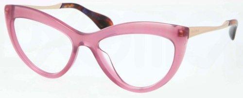 Miu MiuMIU MIU Eyeglasses MU 01MV PC91O1 Violet 54MM